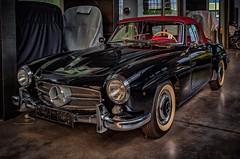 The legendary classic car Mercedes Benz SL Cabriolet (Peter's HDR-Studio) Tags: petershdrstudio hdr classiccar car auto oldtimer mercedes cabriolet