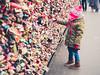 Love Locks - Cologne, Germany (Sebastian Bayer) Tags: köln schlösser deutschland liebesschlösser brücke fasziniert hohenzollernbrücke reisen kind stadt mädchen