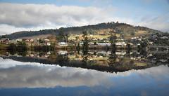 Huon River Huonville (Lesmacphotos) Tags: huonville huon river tasmania mirror