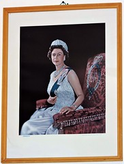 Her Majesty Queen Elizabeth II (Will S.) Tags: qe2 thequeen mypics old oldharry magdalenislands quebec canada