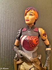 Sabine Wren (JoeyDee83) Tags: star wars disney action figure vinyl toy doll geek space mandalorian black