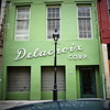 Delacroix (ilovecoffeeyesido) Tags: neworleansla nola thebigeasy delacroixcorp delacroix green reflection frenchquarter