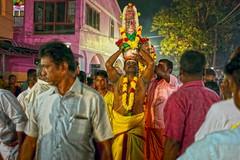 Kalasam / Mariamman festival (Rajavelu1) Tags: streetphotography candidstreetphotography streetlife streetscenes eyecontact culture mariammmanfestival kalsam people art creative india nightstreetphotography