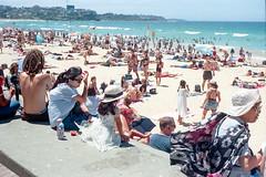 Sydney summer  #165 (lynnb's snaps) Tags: ektar100 elmar50mmf35 leicaiiif sydney beach colour film rangefinder manly kodakfilm coast summer people 2018 barnack australia kodakektar100 ocean 50mm