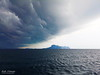 Approaching the Storm in the Middle of the Ocean (Zelle Manzano) Tags: storm rain thunder strongwaves water ocean sea sky clouds island dark travel adventure nature trang thailand