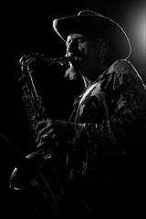 Eazycon Live (malko59) Tags: torino turin music musica musicista musician saxophone sax jazzclubtorino biancoenero blackandwhite fujifilmxseries fujifilmxt1 fujifilm