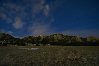 Starry Night in Boulder