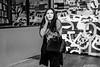 Wary (johnjackson808) Tags: vancouver monochrome hastingsst woman people richardsst bw cellphone fujifilmxt1 blackandwhite streetphotography downtown