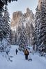 Nel silenzio del bosco (cesco.pb) Tags: valdifunes odle dolomiten dolomiti dolomites alps alpi italia italy sudtirol altoadige canon canoneos60d tamronsp1750mmf28xrdiiivcld montagna mountains neve winter bosco