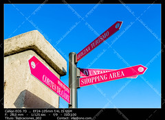 Directional Sign (__Viledevil__) Tags: directional sign road arrow choice crossroad decision direction guide guidepost indicator information message option path post roadsign select signpost travel way directionalsign
