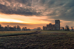 Fawsley Church (Andrew Hosegood) Tags: fawsley church daventry northamptonshire winter sunrise estate private colour andrew hosegood