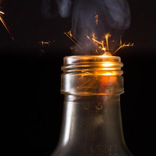 small bottle firework