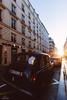 London cab in Paris (Alexandre Marah) Tags: 1635 6d canon city cityscape france llense lserie paris street sunset ciel rue sky soleil sun