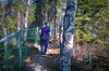 Walking on the wild side . . (JLS Photography - Alaska) Tags: forest woods path me jlsphotographyalaska walk hike trees spring painting art digitalart digitalmanipulation people outdoor tree wood grass