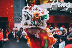 Lion dance (JxChrixt) Tags: chinatown lunarnewyear newyear newyork nyc liondance lion dance