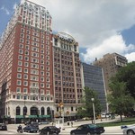 Chicago Illinois - Torco Building (Columbia College Chicago)  Blackstone Hotel thumbnail
