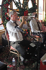 Jazz Onboard (skipmoore) Tags: natchez riverboat steamboat musician trumpet performer jazz
