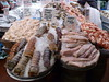 Fresh seafood (normapaulsonhiggins) Tags: freshseafood lobstertail lobster seafood seattlepublicmarket publicmarket
