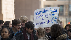 High school students protest for gun reform (Fibonacci Blue) Tags: minneapolis mpls protest march shooting demonstration event gun dissent nra outcry outrage twincities minnesota school student people crowd sign activist activism