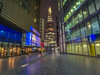 vertically challenged (Wizard CG) Tags: more place london shard bridge ngc world trekker micro four thirds 43 m43 olympus long exposure architecture hall city by night cityscape england glass hdr high dynamic range light lights lines modern building old path uk united kingdom