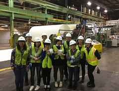 English and American Culture Program (Lower Columbia College) Tags: papermanufacturing paper english american culture program niiza saitama japan lcc lowercolumbiacollege atomi university visit international internationalstudent exchange exchangestudent japanesestudent people cultural