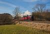 Passing Newbiggin (priorn) Tags: lms jubilee 45699 galatea newbiggin railwaytouringcompany wintercumbrianmountainexpress