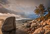 Lake Tahoe @ Sunset (Ansgar Hillebrand) Tags: lake tahoe laketahoe monolake sunset sunrise usa usa2014 usasouthwest nikon d800 d800e d810 d850 nikond810 nikond850 nikond800e anschariuscom 100daysoffreedom sky clouds trees landscape landschaft landscapephotography landschaften rocks mountains