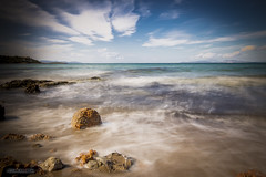 Mikro Kavouri (HarrisGkioulistanis) Tags: greece athens southsuberbs sea sky clouds longexposure nikond7200tokina1120mm traveler travelphotography nikon d7200