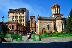 Annunciation Church of Saint Anthony (Gedsman) Tags: romania europe bucharest wallachia history historical tradition traditional capital beauty travel blueskies modern architecture