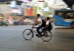 ... boys on a bicycle ... (@ Images and Pictures) Tags: photography street streetphotography boys bicycle kolkata