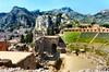 Tauromenium (Taormina) theatre. Sicily (John McLinden) Tags: tauromenium taormina italy sicily theatre roman greek mountais view