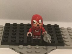 Lego Custom: Ugandan Knuckles (Captain Crafter) Tags: lego custom ugandan knuckles sonic vr chat vrchat virtual reality and do you know de wae kno wei why running spit bruddah queen meme memes debil devil devil's skin dank gregzilla oh no videogame videogames hero heroes uganda clicking noises click yu i don't want set world fire