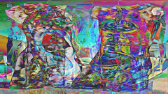 Zwiegespraech 01r abstrakt skulptural (wos---art) Tags: bildschichten zwiegespräche dialog kommunikation auseinandersetzung beziehung gespräch unterhaltung gott god begegnung meeting