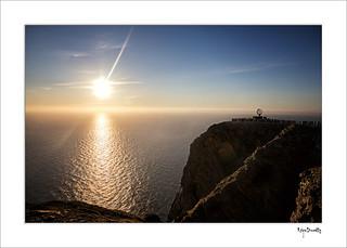 Soleil de minuit au Cap Nord...