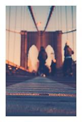 Brooklyn Bridge at sunset (Italian man in New York) Tags: history newyork ny love architecture sunset