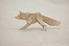 15/365 Fox by Saku (origami_artist_diego) Tags: origami origamichallenge 365days 365origamichallenge fox sakusaku