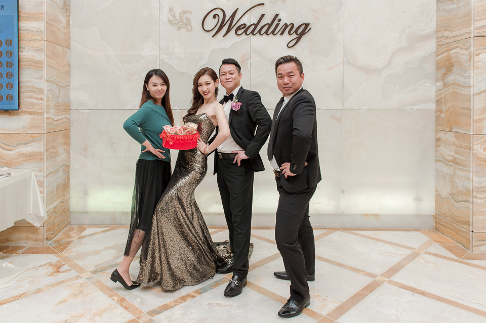 婚攝 高雄林皇宮 婚宴 時尚氣質新娘現身 S & R 165