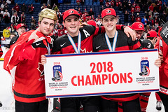 2018. (R1ku Exposures) Tags: jääkiekko usa worldjuniors buffalo nuortenmmkisat urheilu wjc2018 ny teamcanada canada sportsphotography sports sport hockey hockeyphotography champions champs worldjuniors2018 wjc wjcinbuf icehockey ice keybankcenter celebration celebrations