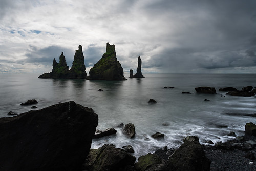 Reynisdrangar - Long Exposure