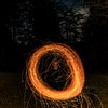 Sparky Ring (Keegan Smith) Tags: orange leshe red blur longexposure lightpainting sparks burning fire
