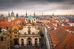 Birds Eye view of Prague (Tony_Brasier) Tags: cold church prague lovely location people peacefull portrait bluesky buildings birds eye nikond7200 sigma 1750mm czech republic
