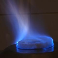 MM wk5: Pineapple Biofuel (m_artijn) Tags: pineapple biofuel mm flame blue glow