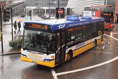 JE YN63BYP @ Moor Street Queensway, Birmingham (ianjpoole) Tags: johnsons excelbus scania ck230ub omnicity yn63byp working route 150 moor street birmingham redditch bus station