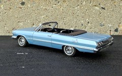 1963 Chevrolet Impala SS 409 Convertible (JCarnutz) Tags: 124scale diecast franklinmint 1963 chevrolet impalass 409
