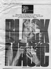 Daily Mirror 13 April 1963 (Cold War Warrior) Tags: dailymirror newspaper blackmagic advertisement 1963