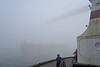 pea soup (wfung99_2000) Tags: thick fog vancouver harbor lions gate bridge seawall stanleypark