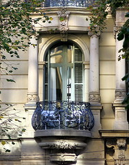 An intimate balcony, Barcelona