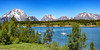 Jackson Lake, Mt. Moran, and the Teton Range in Grand Teton National Park (Jim Frazee) Tags: jacksonlake mtmoran tetonrange grandtetonnationalpark