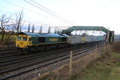 Freightliner 66598 @ Chorlton Lane Nr Crewe (uksean13) Tags: 66598 freightliner freight diesel cheshire crewe chorltonlane canon 760d ef28135mmf3556isusm train railway rail