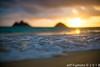 Lanikai Sunrise (j . f o o j) Tags: lanikaisunrise lanikai kailua aloha hawaii namokulua mokuiki mokunui twinislands nikond610 nikkor20mmf28 nikkor50mmf12ais nikkor16mmf28fisheye